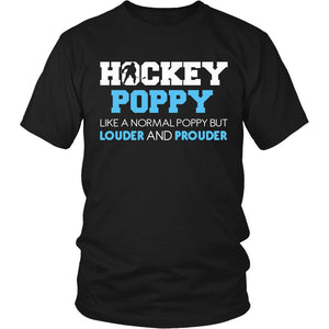 Loud and Proud Hockey Poppy T-Shirt