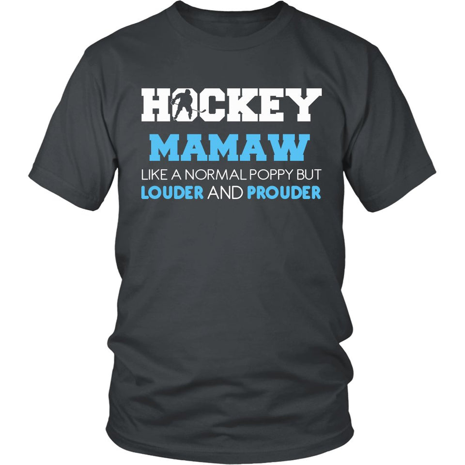 Loud and Proud Hockey Mamaw T-Shirt
