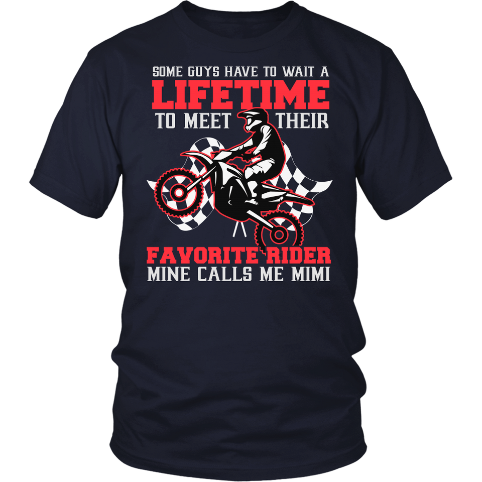 Favorite Motocross Rider - Mine Calls Me Mimi T-Shirt