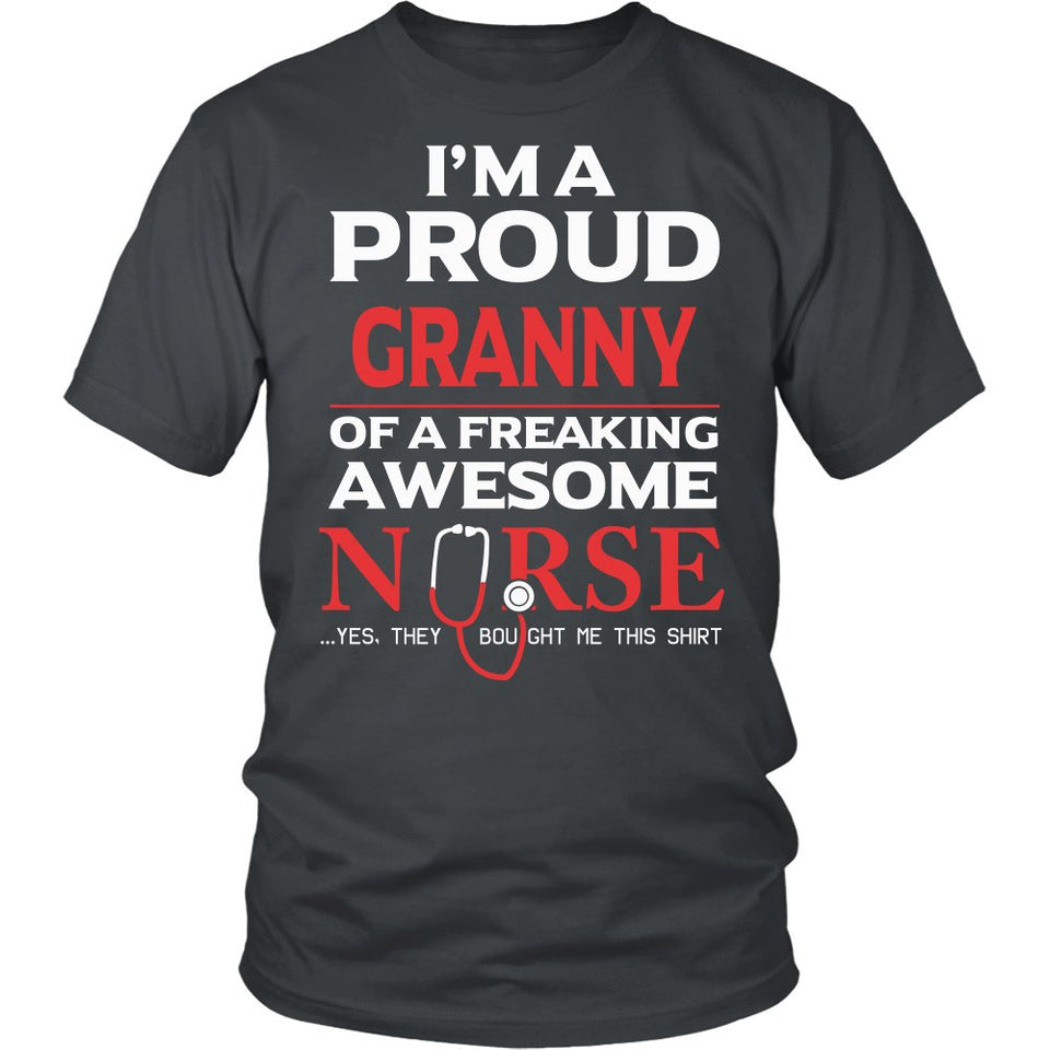 Proud Granny of An Awesome Nurse T-Shirt