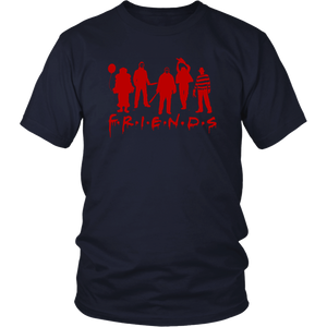 Horror Movie Friends T-Shirt