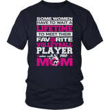 Favorite Volleyball Player - Mine Calls Me Mom T-Shirt