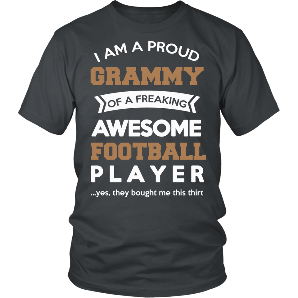 Proud Grammy of An Awesome Football Player T-Shirt