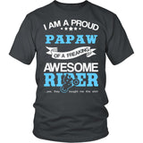 Proud Papaw of An Awesome Motocross Rider T-Shirt