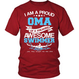 Proud Oma of An Awesome Swimmer T-Shirt
