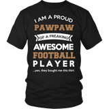 Proud Pawpaw of An Awesome Football Player T-Shirt