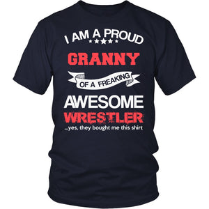 Proud Granny of An Awesome Wrestler T-Shirt