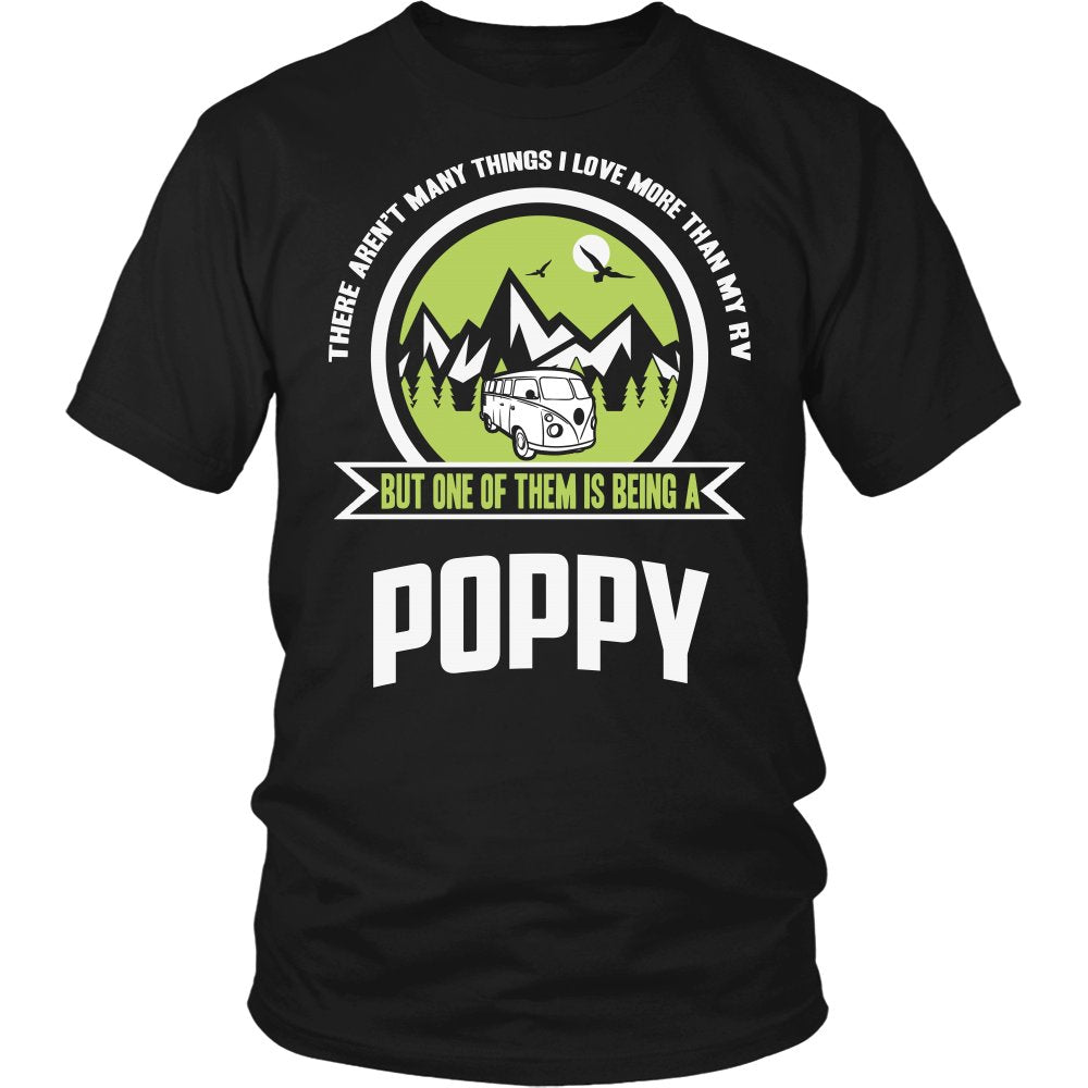 This Poppy Loves His RV T-Shirt