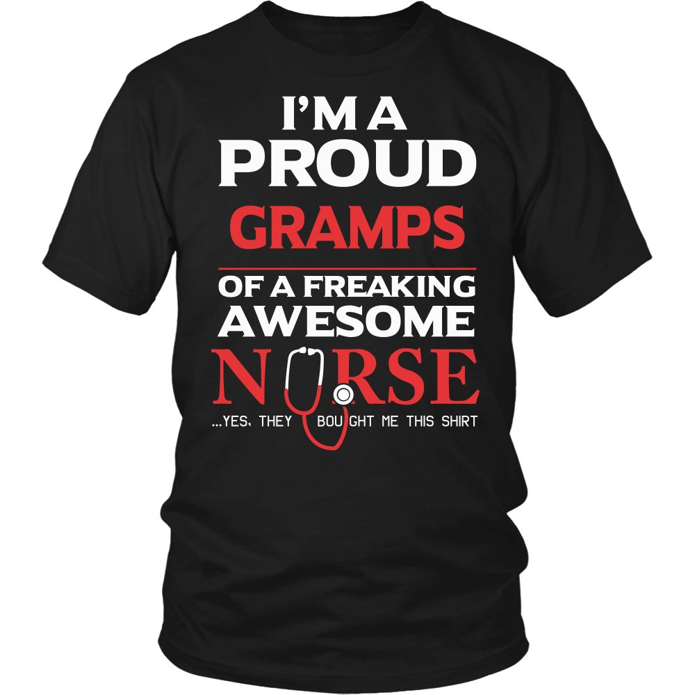 Proud Gramps of An Awesome Nurse T-Shirt