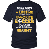 Favorite Soccer Player - Mine Calls Me Grammy T-Shirt