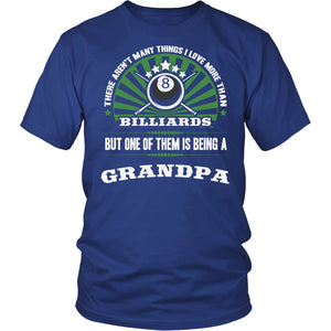 This Grandpa Loves Billiards T-Shirt