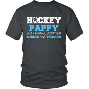 Loud and Proud Hockey Pappy T-Shirt
