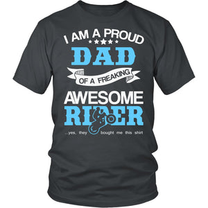 Proud Dad of An Awesome Motocross Rider T-Shirt