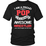 Proud Pop of An Awesome Wrestler T-Shirt