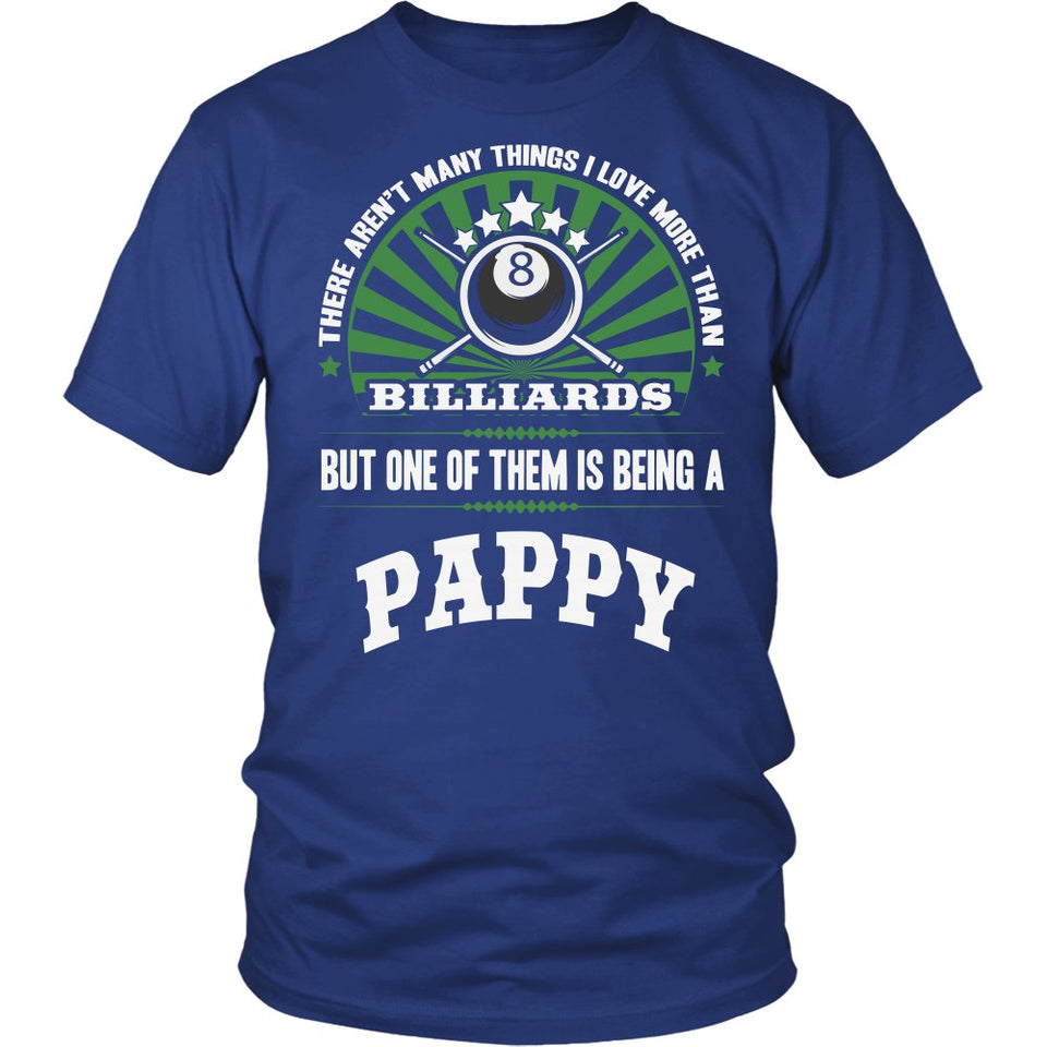 This Pappy Loves Billiards T-Shirt