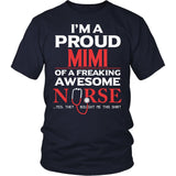 Proud Mimi of An Awesome Nurse T-Shirt