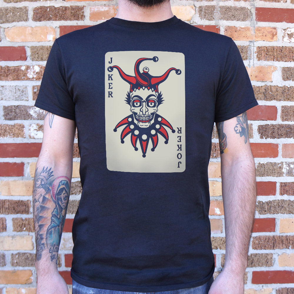 Joker Card T-Shirt (Mens)