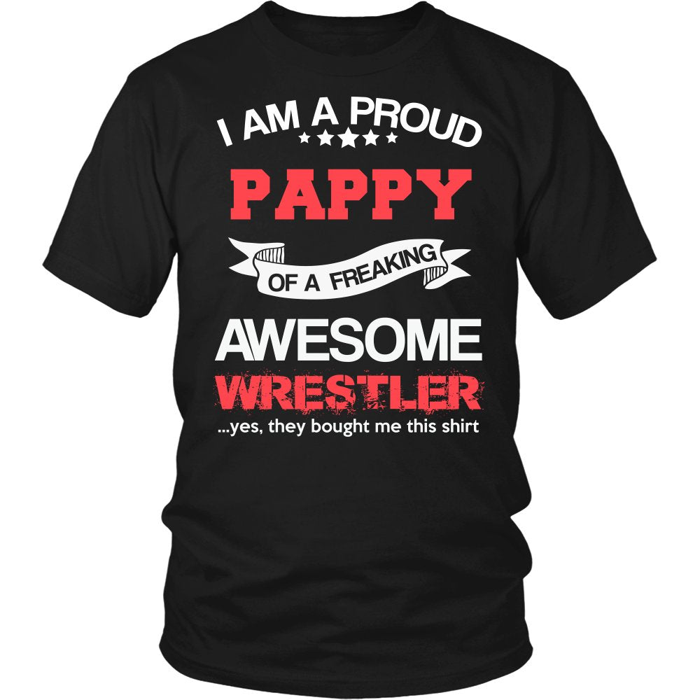 Proud Pappy of An Awesome Wrestler T-Shirt