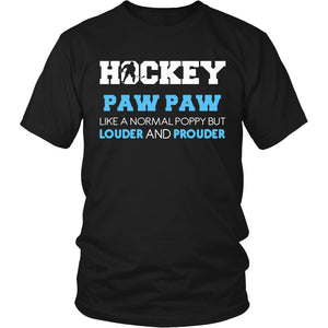 Loud and Proud Hockey Paw Paw T-Shirt
