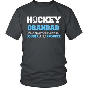 Loud and Proud Hockey Grandad T-Shirt