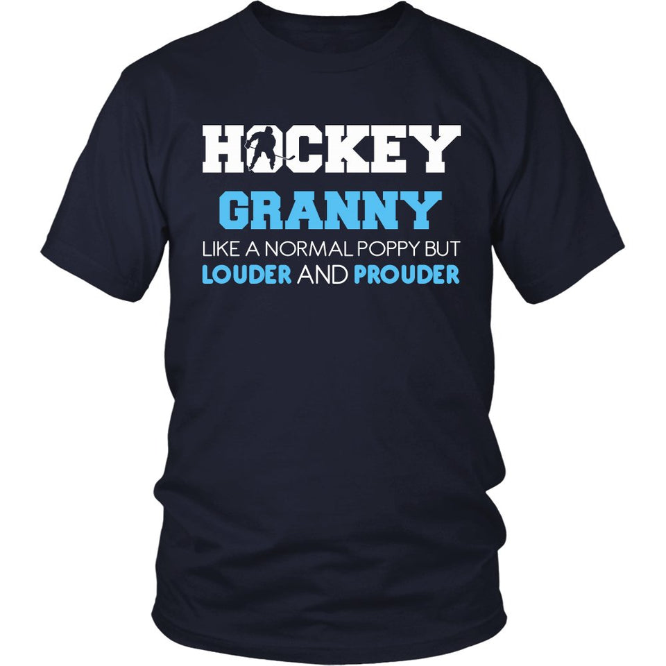 Loud and Proud Hockey Granny T-Shirt