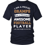 Proud Gramps of An Awesome Football Player T-Shirt