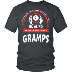 This Gramps Loves Bowling T-Shirt