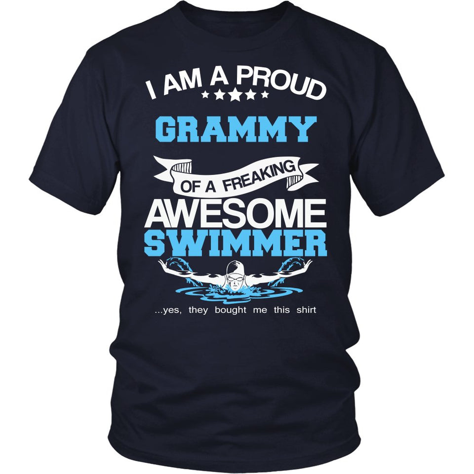 Proud Grammy of An Awesome Swimmer T-Shirt