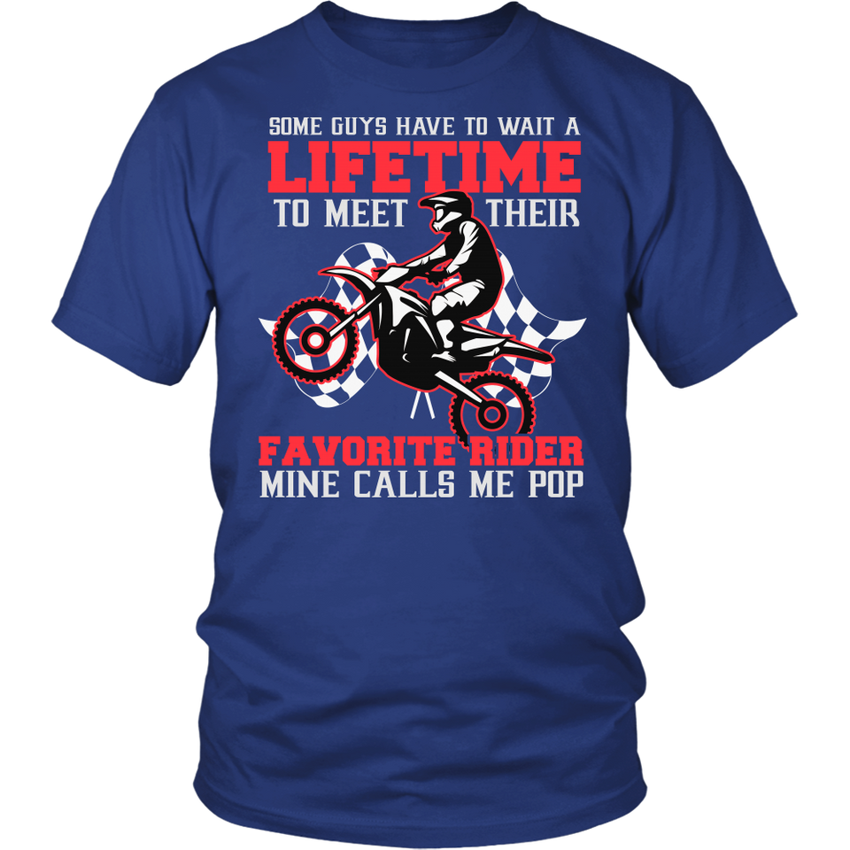 Favorite Motocross Rider - Mine Calls Me Pop T-Shirt