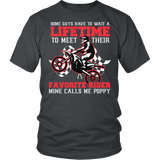 Favorite Motocross Rider - Mine Calls Me Poppy T-Shirt