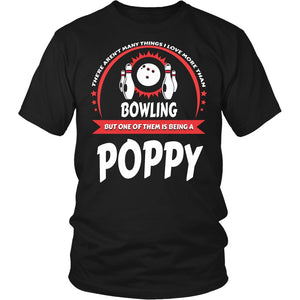 """This Poppy Loves Bowling"" T-Shirt"