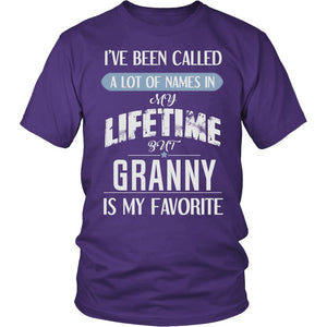 """My Favorite Name Is Granny"" T-Shirt"
