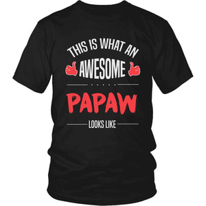 """Awesome Papaw"" T-Shirt"