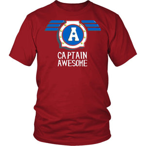 """Captain Awesome"" T-Shirt"
