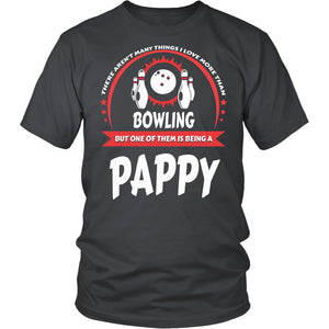 This Pappy Loves Bowling T-Shirt