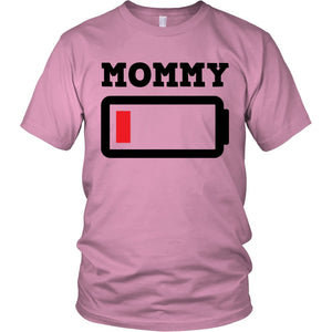 """Mommy Out Of Charge"" T-Shirt"