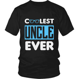 """Coolest Uncle Ever"" T-Shirt"