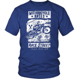 Motorcycle Races California Race Street T-Shirt