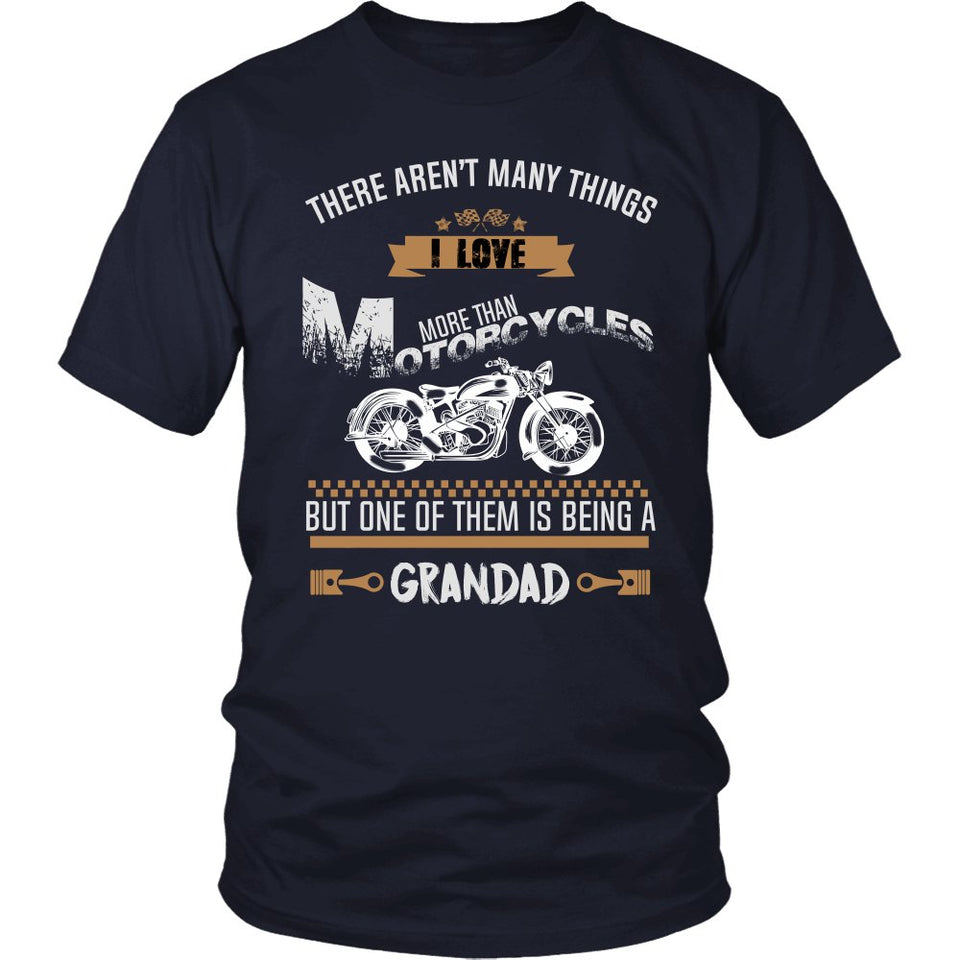 This Grandad Loves Motorcycles T-Shirt