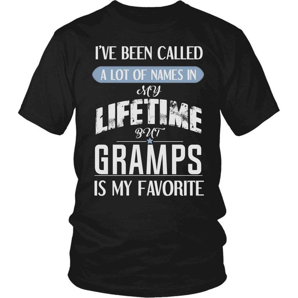 """My Favorite Name is Gramps"" T-Shirt"