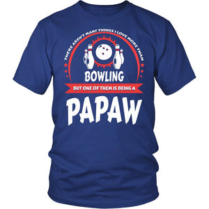 This Papaw Loves Bowling T-Shirt