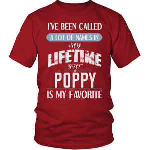 """My Favorite Name is Poppy"" T-Shirt"