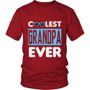 """Coolest Grandpa Ever"" T-Shirt"