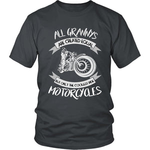 Only The Coolest Grannys Ride Motorcycles T-Shirt