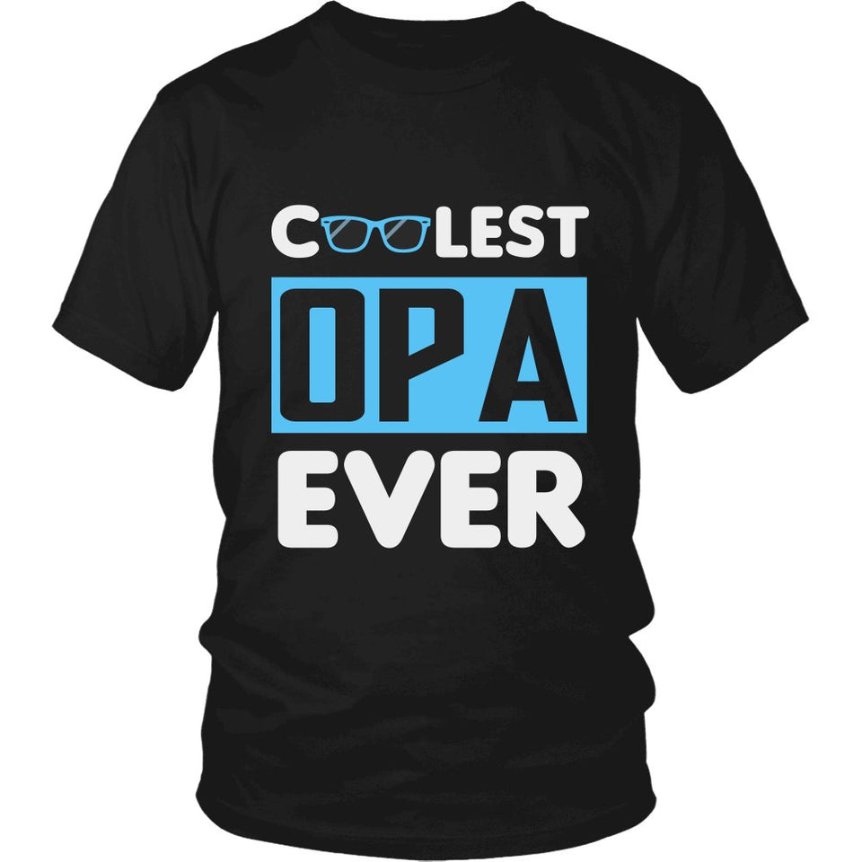 """Coolest Opa Ever"" T-Shirt"