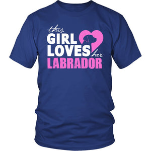 This Girl Loves Her Labrador T-Shirt