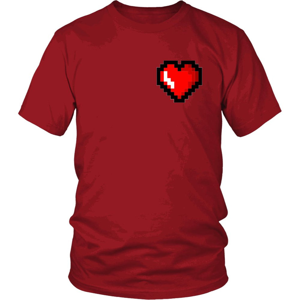 My 8 Bit Heart T-Shirt