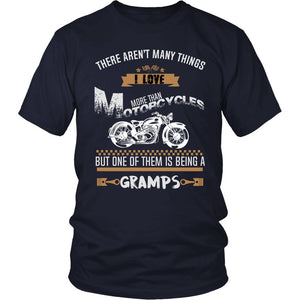 This Gramps Loves Motorcycles T-Shirt