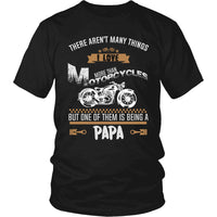 """This Papa Loves Motorcycles"" T-Shirt"