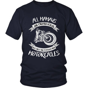 """Only The Coolest Mamaws Ride Motorcycles"" T-Shirt"